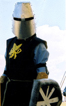 Picture of person in armour